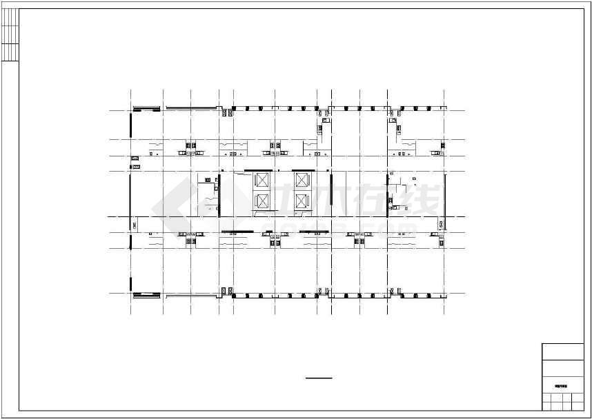 某地二十二层综合楼建筑施工图(含人防工程和效果图)-图2