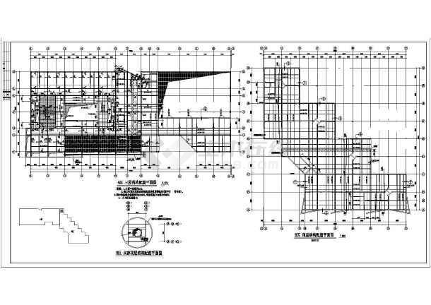某国际学校教学楼及综合楼结构设计图-图2