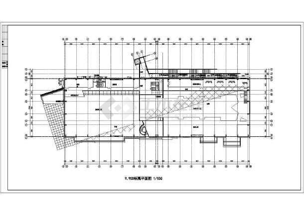 某市高档会所建筑设计图-图2
