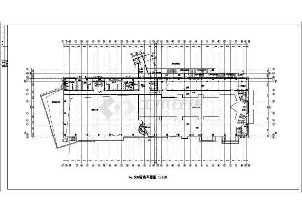 某市高档会所建筑设计图-图3