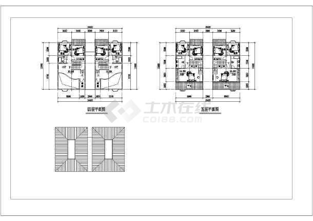 五层高档别墅建筑设计施工图-图3
