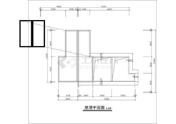 某小区住宅建筑设计方案图-图3