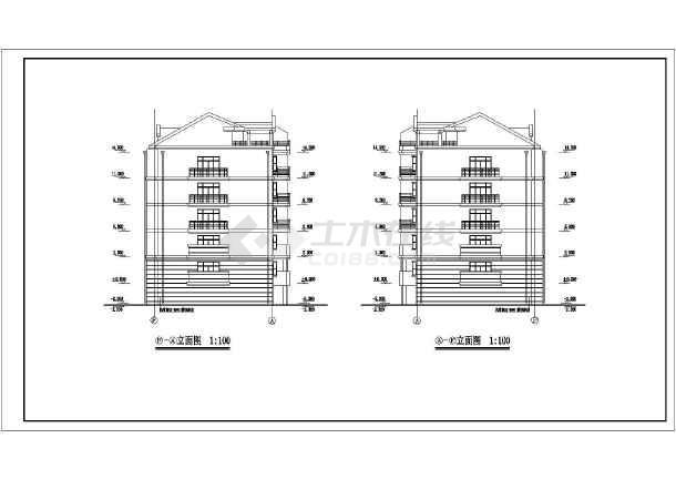 某小区多层住宅套图-图1