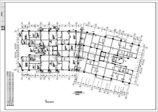 点击查看某花园框架结构施工图第1张大图