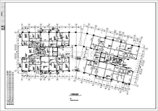 某花园框架结构施工图-图二