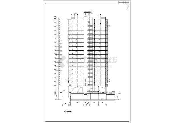 某高层住宅小区12号楼建筑施工图(全套)-图3