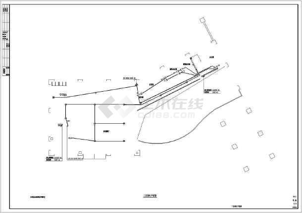 房地产售楼部电气施工图纸-图3