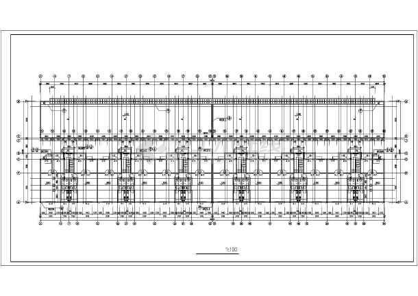某地某住宅建筑施工图(共7张)-图3