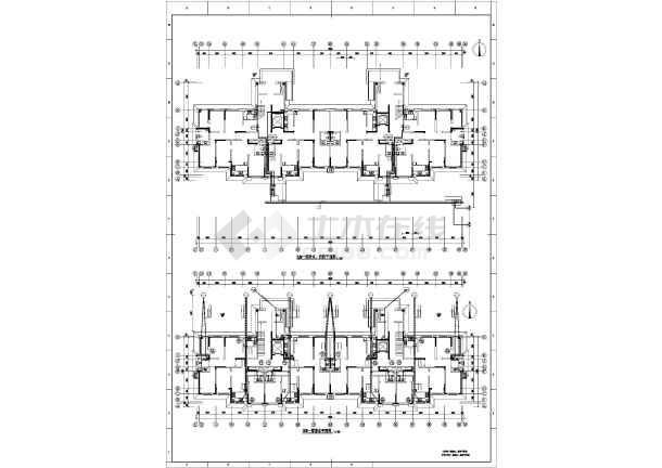 [吉林]高层住宅楼给排水施工图-图一
