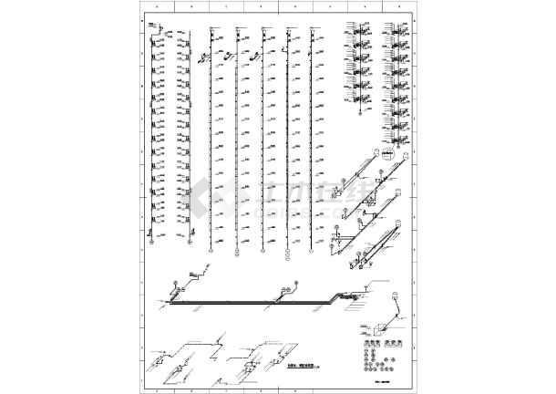 [吉林]高层住宅楼给排水施工图-图1
