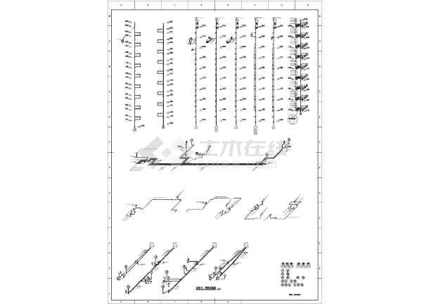 [吉林]高层住宅楼给排水施工图-图2