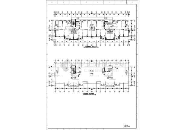 [吉林]高层住宅楼给排水施工图-图3