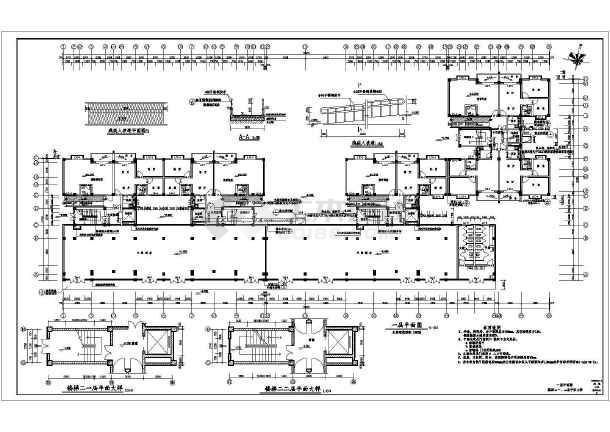 高层住宅楼全套施工图-图1