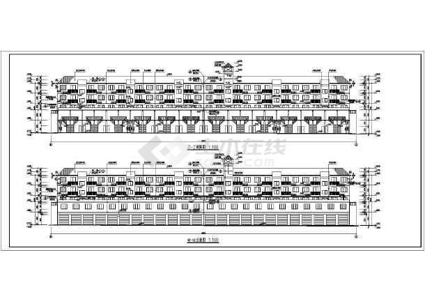 某小区住宅楼施工方案设计图-图1