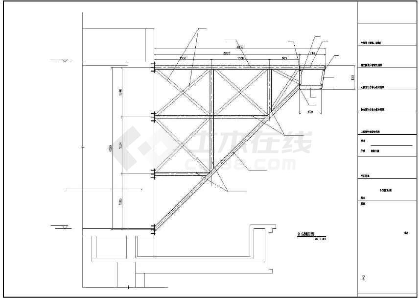 某地人民南路大厦外墙及内部改造工程建筑结构电气施工图-图1