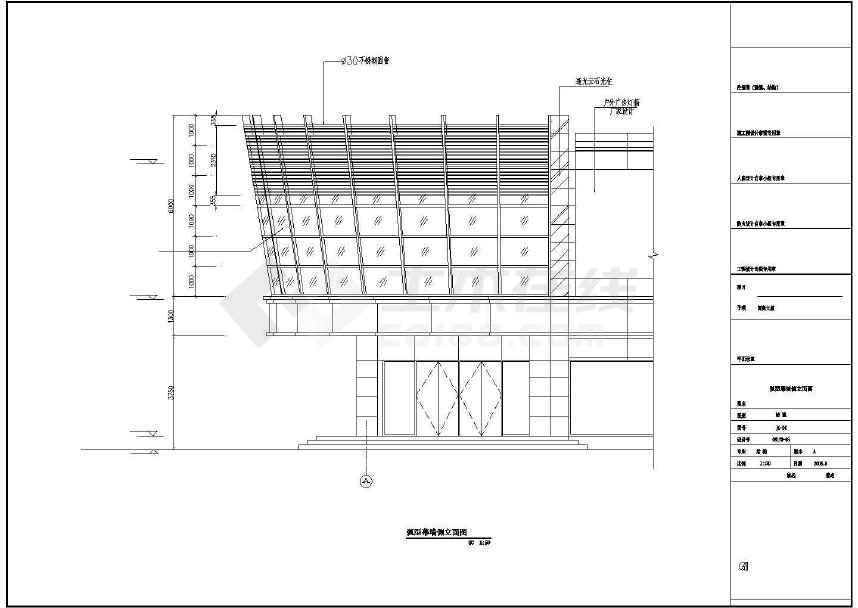 某地人民南路大厦外墙及内部改造工程建筑结构电气施工图-图2