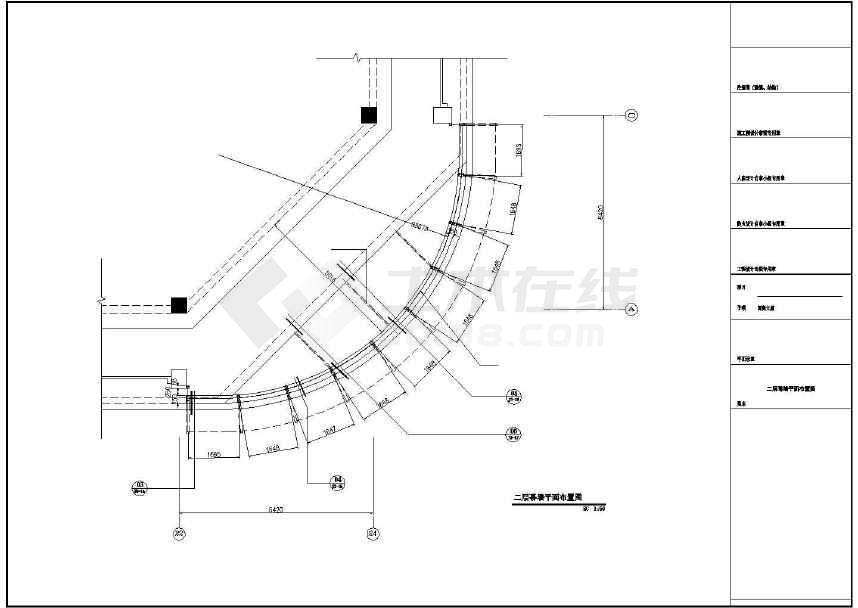 某地人民南路大厦外墙及内部改造工程建筑结构电气施工图-图3