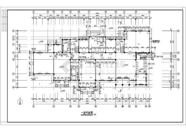 一套精品幼儿园建筑施工图-图1
