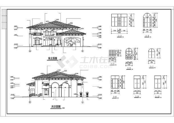 一套精品幼儿园建筑施工图-图2
