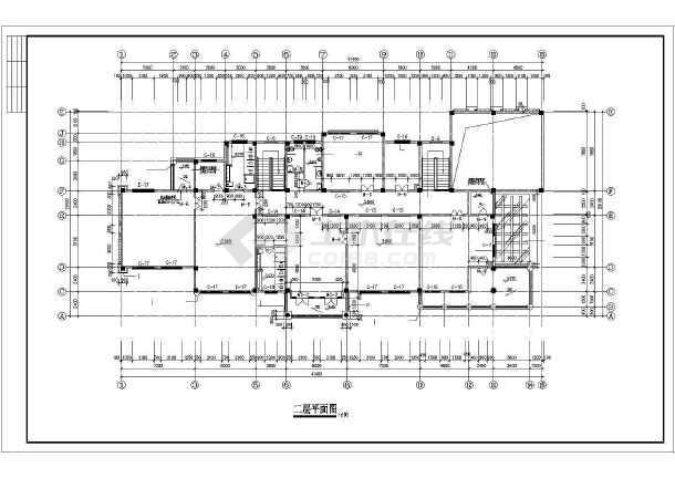 一套精品幼儿园建筑施工图-图3