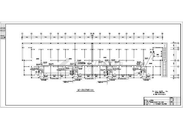 [陕西]六层住宅楼电气施工图纸-图1