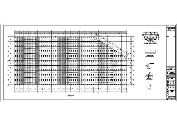 某公司钢结构布置CAD图-图3