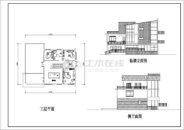田园风格别墅建筑图(带效果图)-图2
