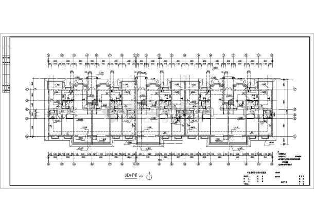 某地住宅建筑图cad-图1
