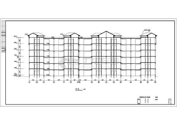 某地住宅建筑图cad-图2