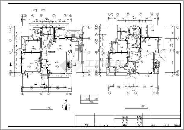 401平米别墅建筑设计图纸-图2