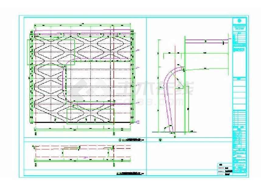 某地国际商贸皮革城建筑施工图(带节能说设计及说明)-图1