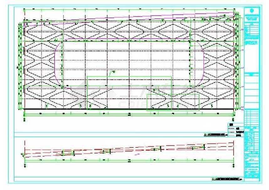 某地国际商贸皮革城建筑施工图(带节能说设计及说明)-图3