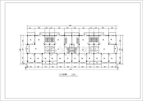 某欧式商场建筑设计CAD施工图-图2