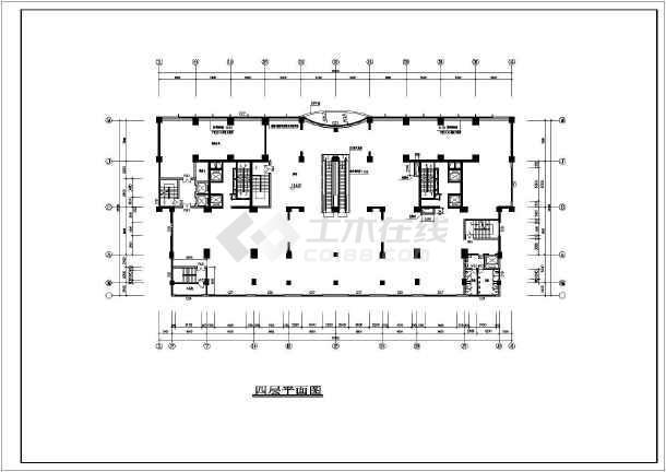 某高层住宅建筑cad施工图-图2