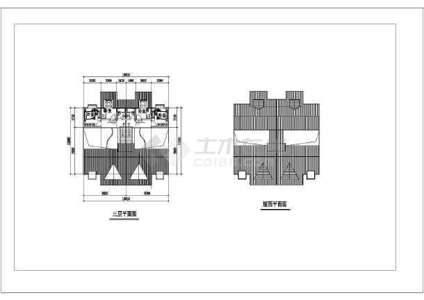 256平米别墅建筑设计施工图-图3