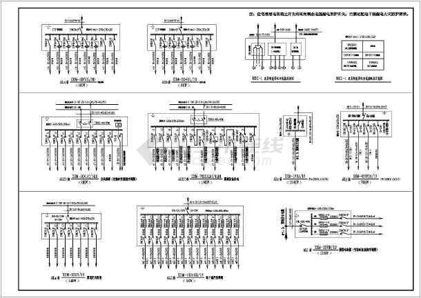 [河南]二十六层住宅楼电气施工图纸-图1