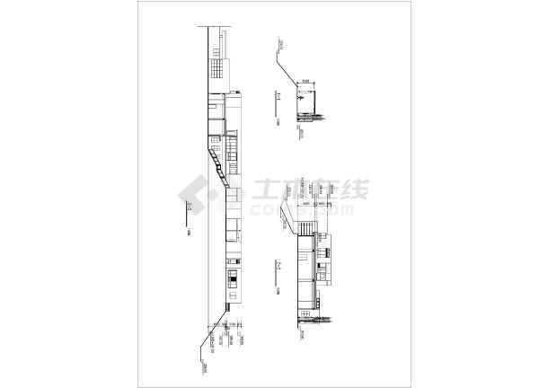 某售楼样板区建筑设计施工图-图二