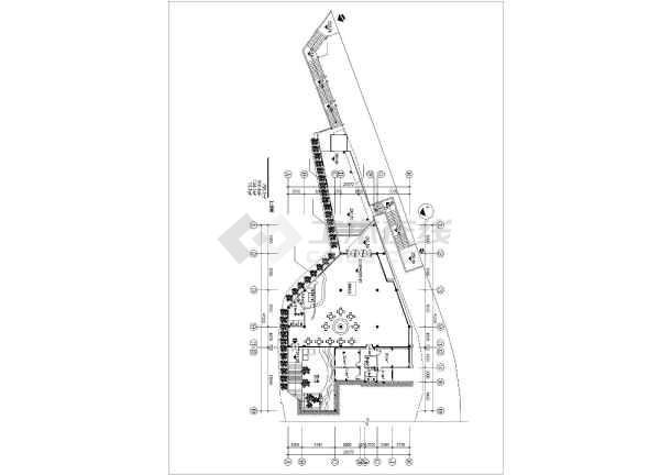 某售楼样板区建筑设计施工图-图2
