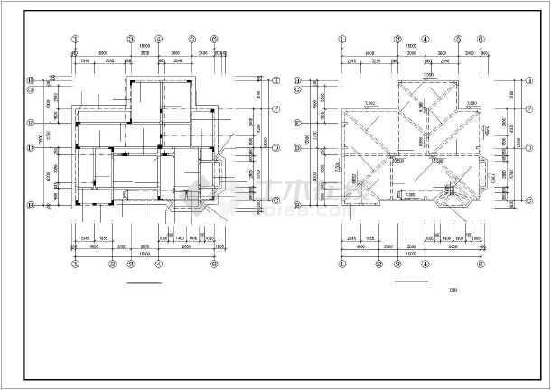 某海景别墅建筑结构设计图纸-图2