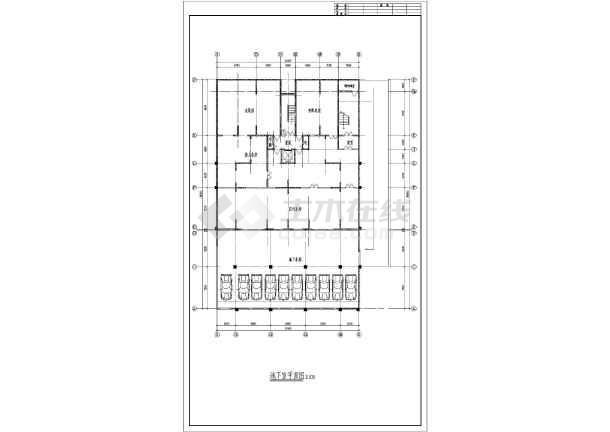 某小高层住宅楼建筑设计方案图-图3