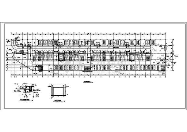 某小高层住宅楼建筑设计方案CAD图-图1