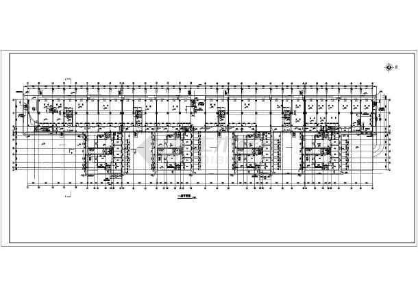 某小高层住宅楼建筑设计方案CAD图-图2