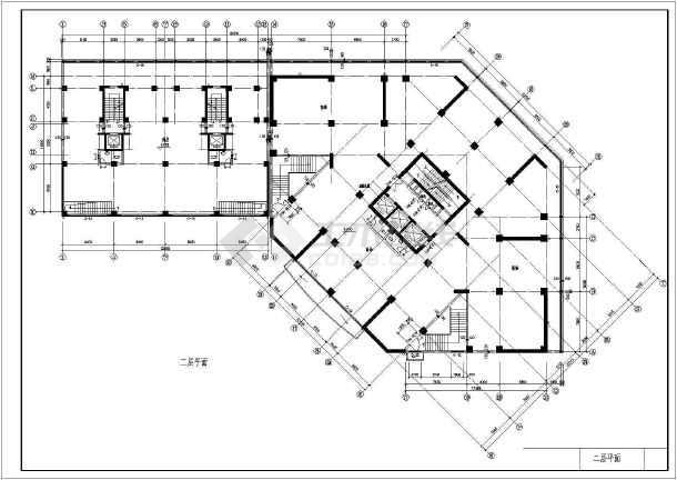 某市高层住宅建筑设计图纸-图3