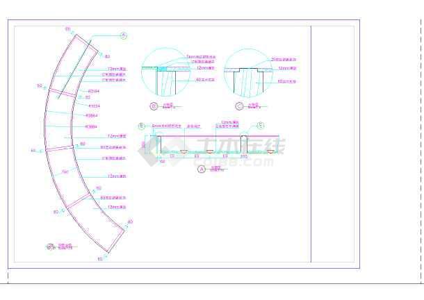 某大酒店室内装修设计全套施工图-图1