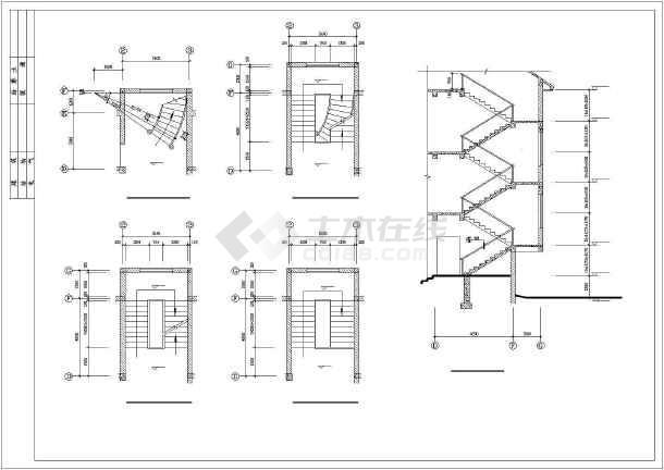 乡村小别墅建筑施工图-图2