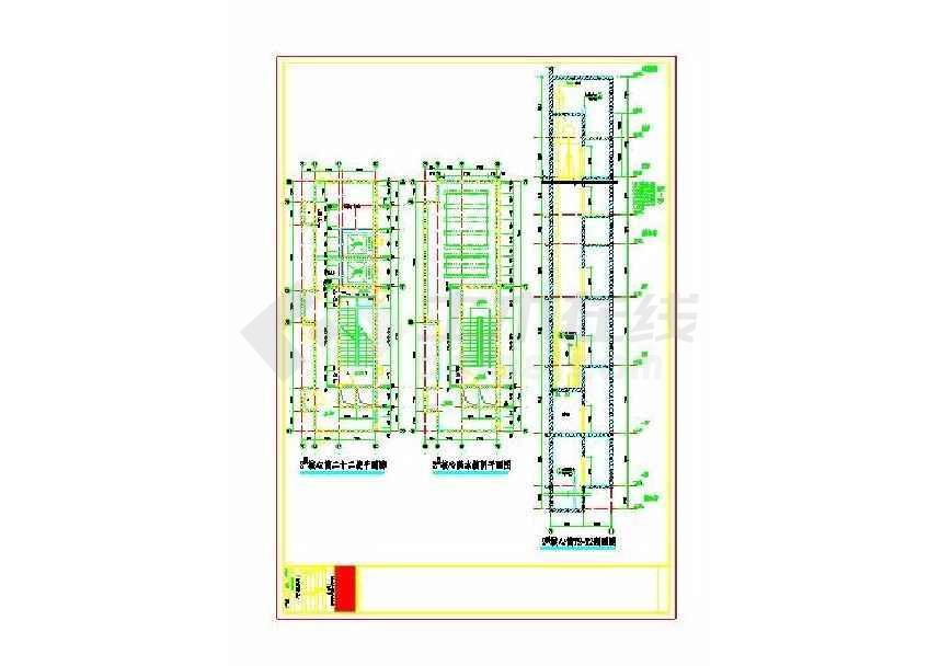 某地旧城改造项目某地块建筑施工图-图3