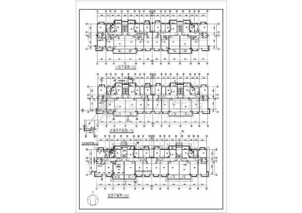 某地多层住宅施工方案图纸-图1