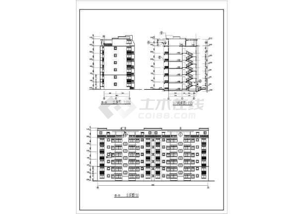 某地多层住宅施工方案图纸-图2