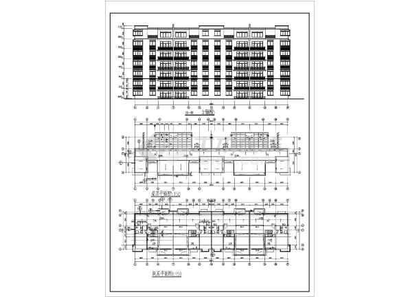 某地多层住宅施工方案图纸-图3