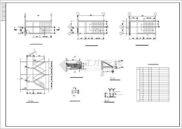 水上小别墅建筑设计施工图-图3